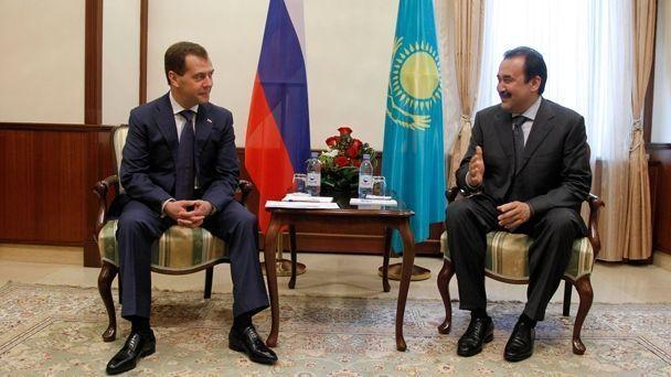 На фото: Дмитрий Медведев и Карим Масимов