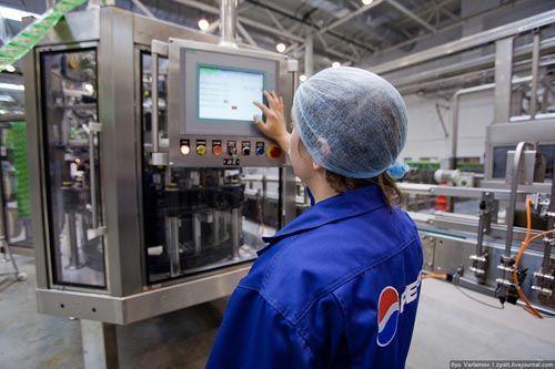 Завод напитков PepsiCo в Домодедово