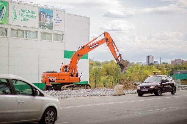 В Новосибирске началась вторая очередь реконструкции Мочищенского шоссе