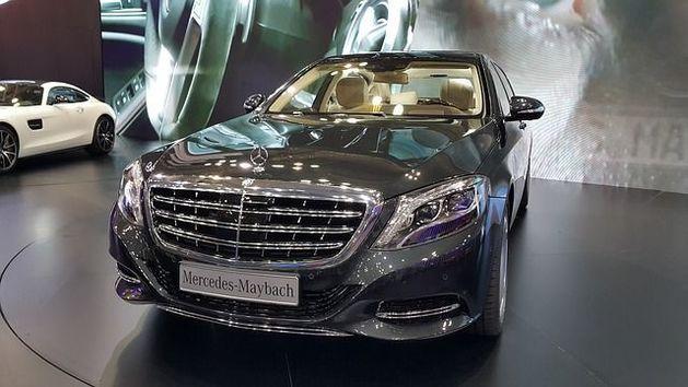 В Новосибирске стартовали продажи люксового автомобиля Maybach