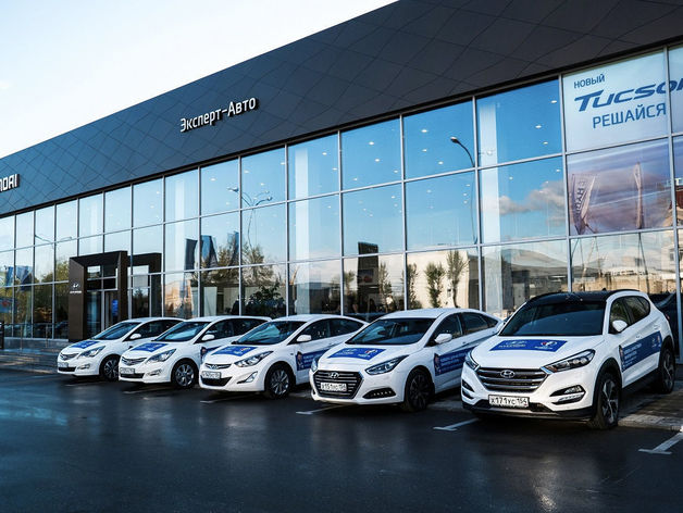 В Новосибирске открылся новый автосалон Hyundai
