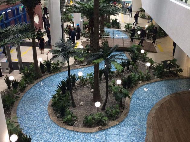 В Новосибирске открылся самый большой в России аквапарк