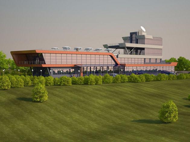 Разработан проект здания новосибирского Речного вокзала в виде теплохода