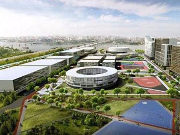 Новосибирские власти представили в Кельне проект ледовой арены и отель