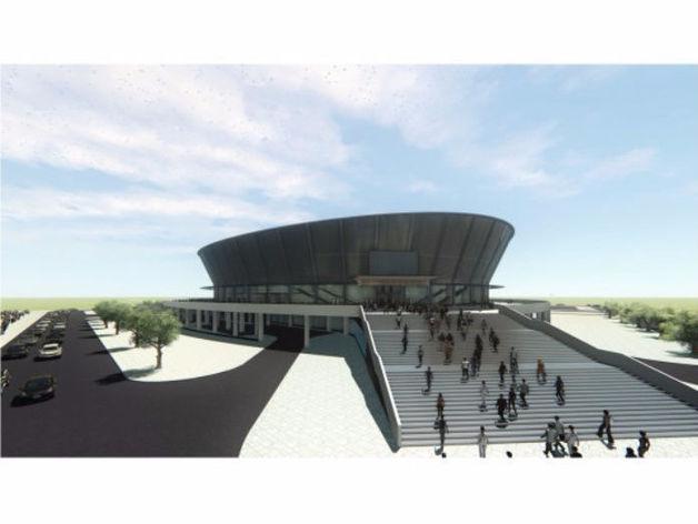 Вместе с ледовой ареной в Новосибирске планируют возвести новое жилье. Презентация проекта