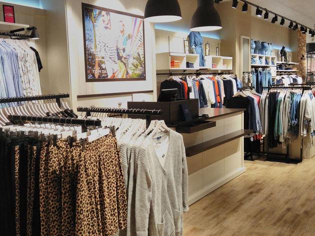 Первый магазин бренда Tom Tailor открылся в Новосибирске