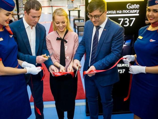 Авиатренажер компании Dream Aero открылся в «Сибирском Молле»