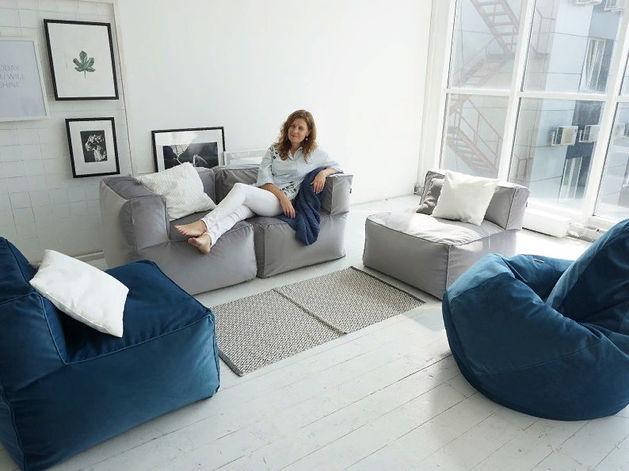Меняй обстановку с модульным бескаркасным диваном «Ай Диво» хоть каждый час!