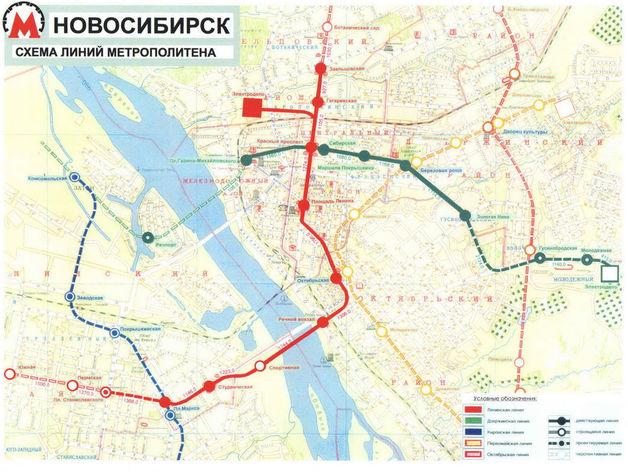 Главгосэкспертиза не одобрила продление линии метро в Новосибирске