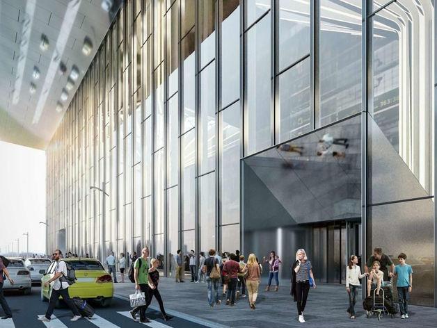 Выбрана архитектурная концепция нового аэровокзального комплекса Толмачево