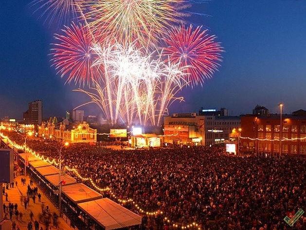 Главная площадка Дня города традиционно развернется на пл. Ленина