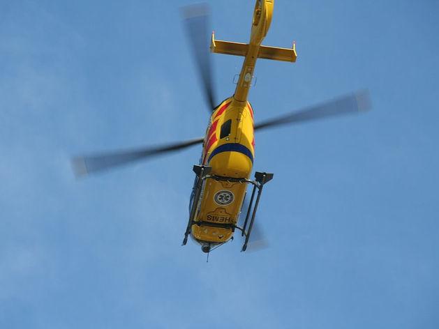 Вертолет санавиации приступил к работе в Новосибирской области