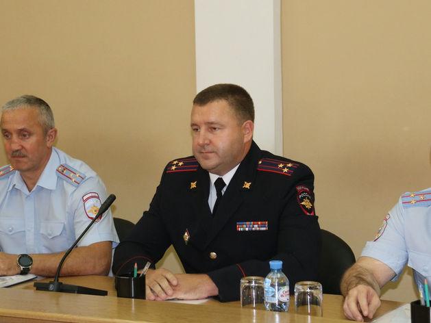 Нового начальника полиции назначил Путин в Новосибирске