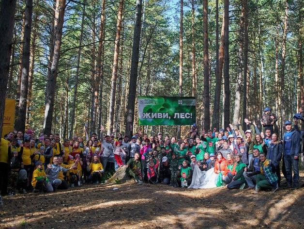 Шесть крупных компаний вышли на экологический субботник в Новосибирске