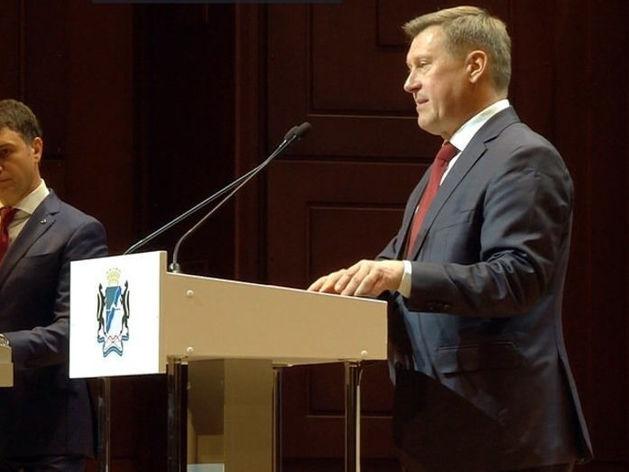 Анатолий Локоть вступил в должность мэра Новосибирска