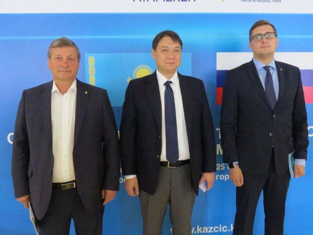 Торгово-экономическая миссия казахстанских товаропроизводителей состоялась в Новосибирске