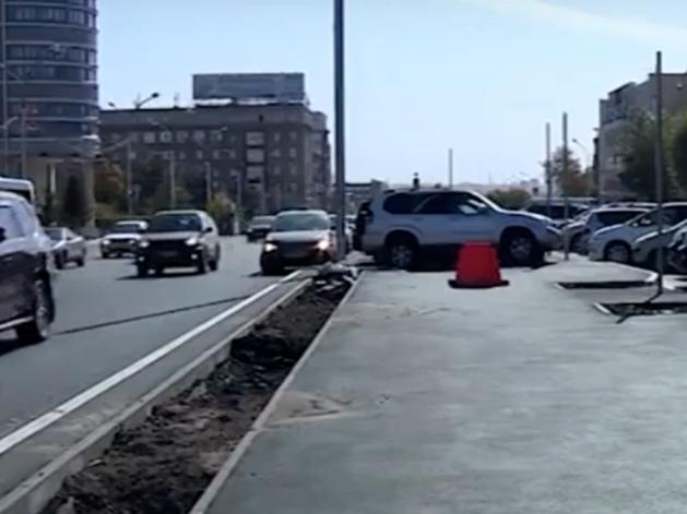 Подрядчик рассказал, когда закончится ремонт на Красном проспекте