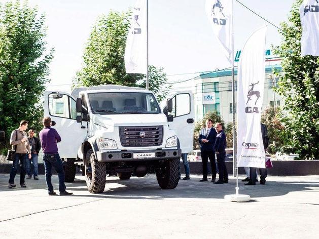 GAZ DAY с успехом прошел в дилерском центре ГАЗ «Сармат»