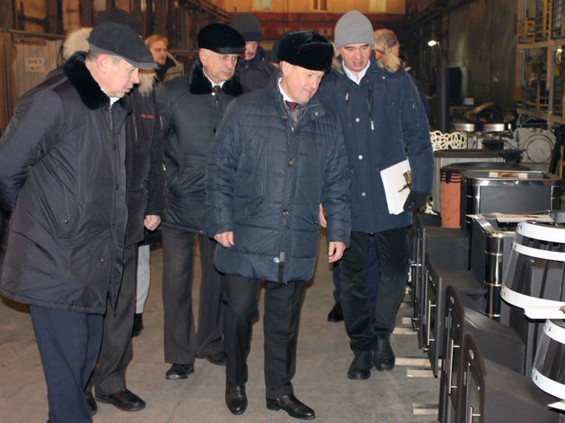 Мэру показали малоизвестное новосибирское предприятие