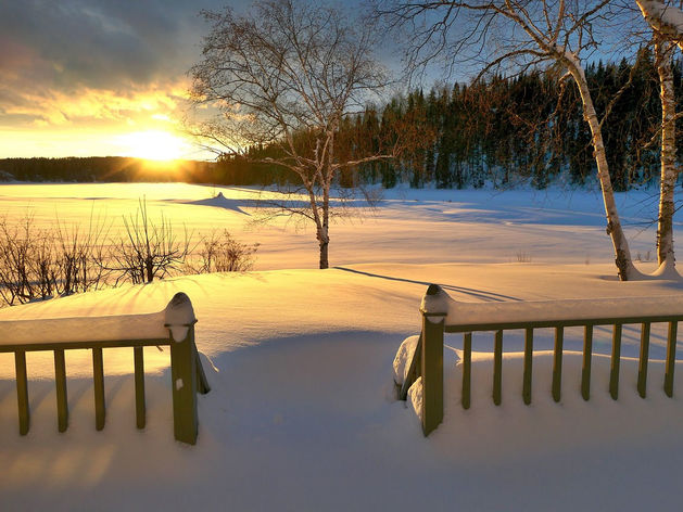 Солнечная погода без морозов порадует новосибирцев на выходных