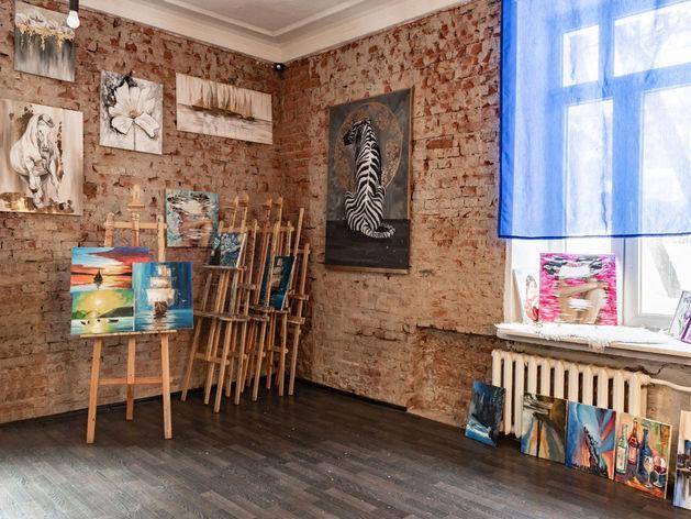 NY school — студия рисования для взрослых в Новосибирске!