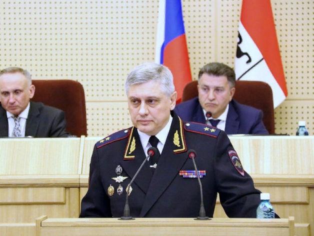 Путин освободил от занимаемой должности начальника новосибирского МВД
