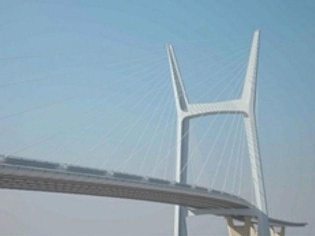 Застройщику четвертого моста дали разрешение на строительство путепровода