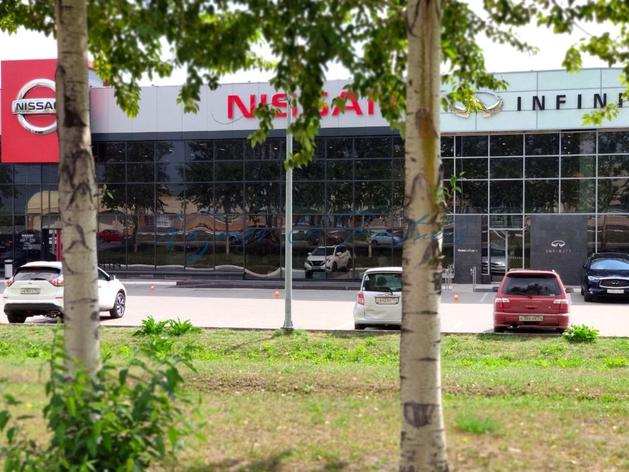 Здание автосалона Nissan выставлено на продажу в Новосибирске