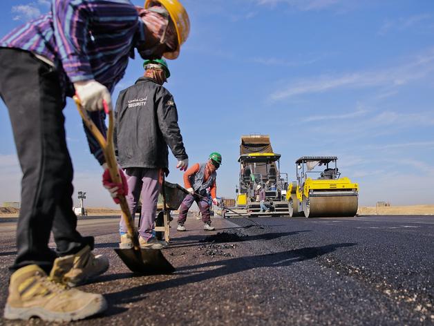 Почти 220 миллионов потратили новосибирские власти на строительство 760 м дороги