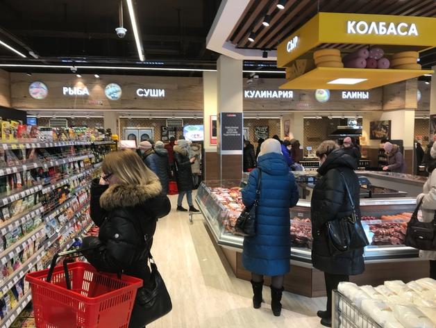 Открылся первый в Новосибирске магазин крупной международной сети