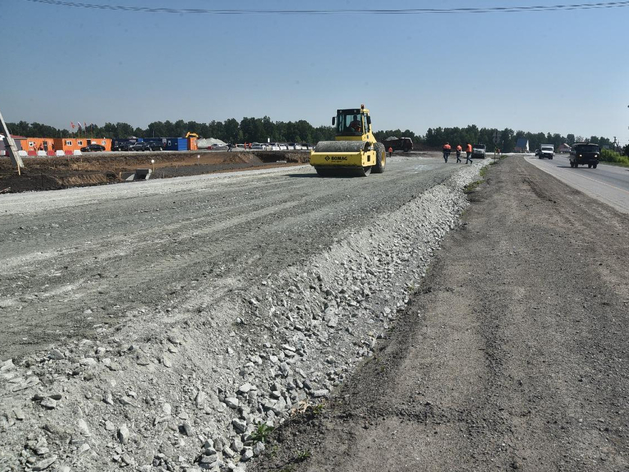 Двухуровневую транспортную развязку начали строить на въезде в Новосибирск